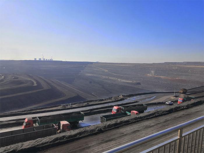 干雾抑尘系统在露天煤矿场应用
