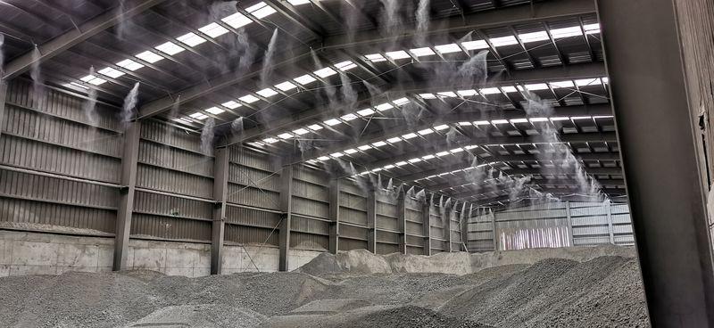 煤炭处理干雾抑尘案例展示