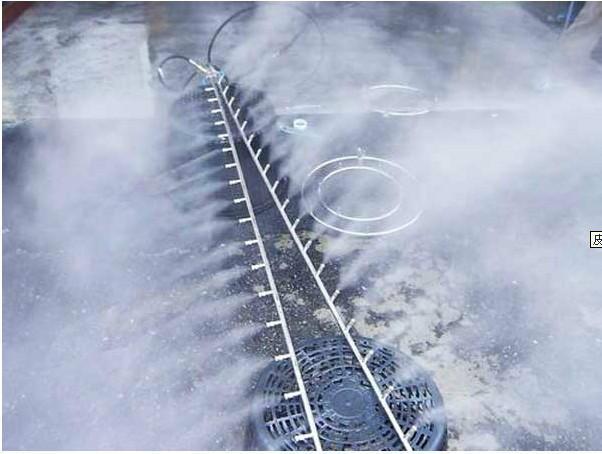 干雾抑尘的技术原理应用