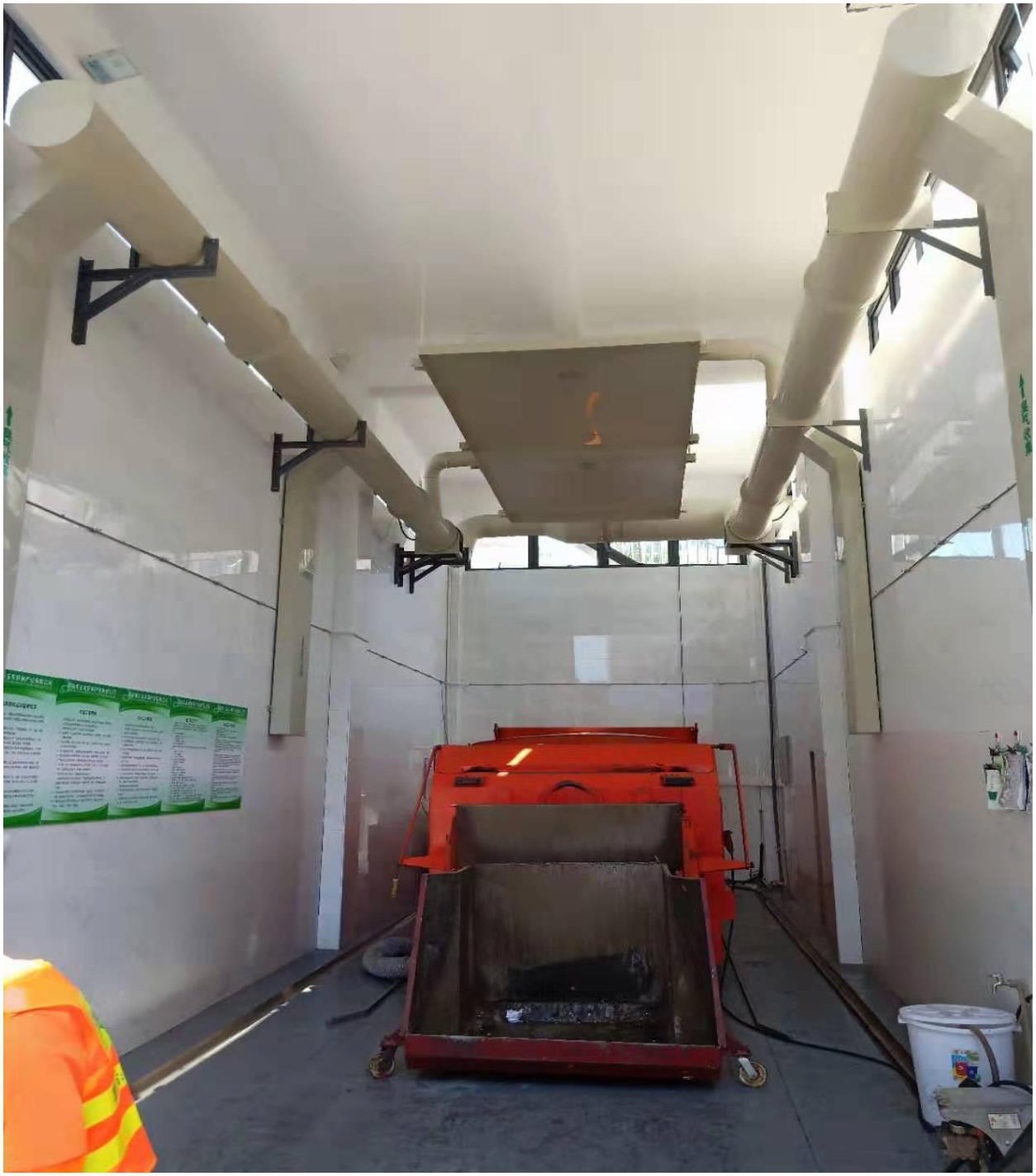 菲格朗垃圾压缩站丨除臭系统