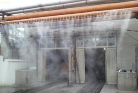 污水处理站喷雾除臭设备案例