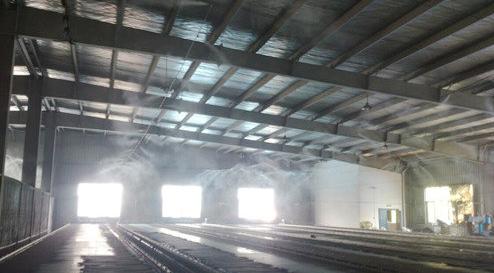 高压喷雾降尘设备的具体功能和技术特点
