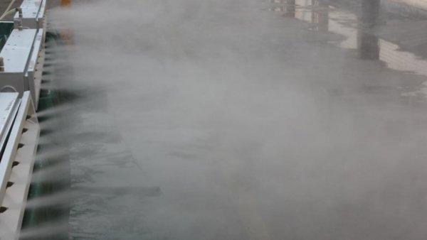 干雾抑尘系统降尘的原理