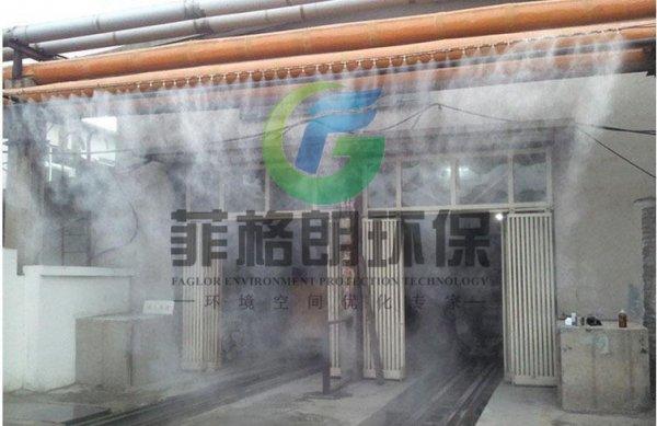 喷淋废气除臭设备案例